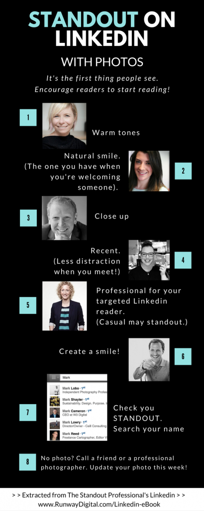 What makes a perfect Linkedin profile photo