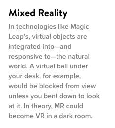 Virtual Reality is so HOT right now