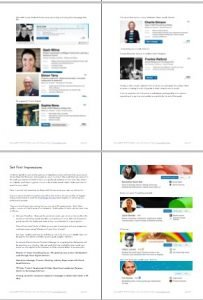 LinkedIn Style Book - example pages - Example Professional Profiles