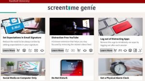 Screen time genie solutions